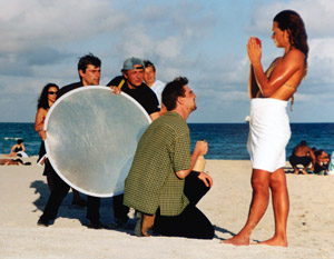 <h2>Franziska van Almsick mit Heiner Köpcke (Miami Beach, USA)</h2> <div id='tags'>Schlagworte: <a href='/galerie/fotoshooting' rel='tag' title='Making of,div. Shootings'>Making of</a></div>